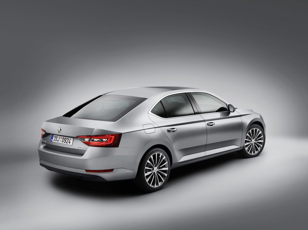 The new Skoda Superb