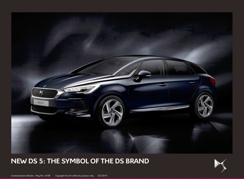 New Citroen DS 5