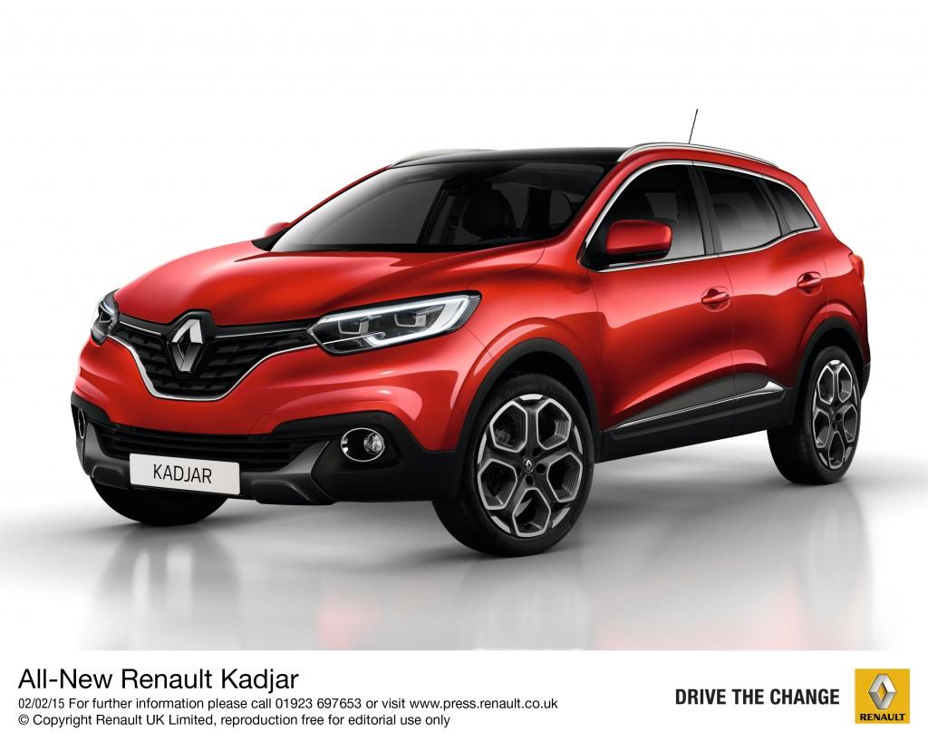 Renault reveals Kadjar