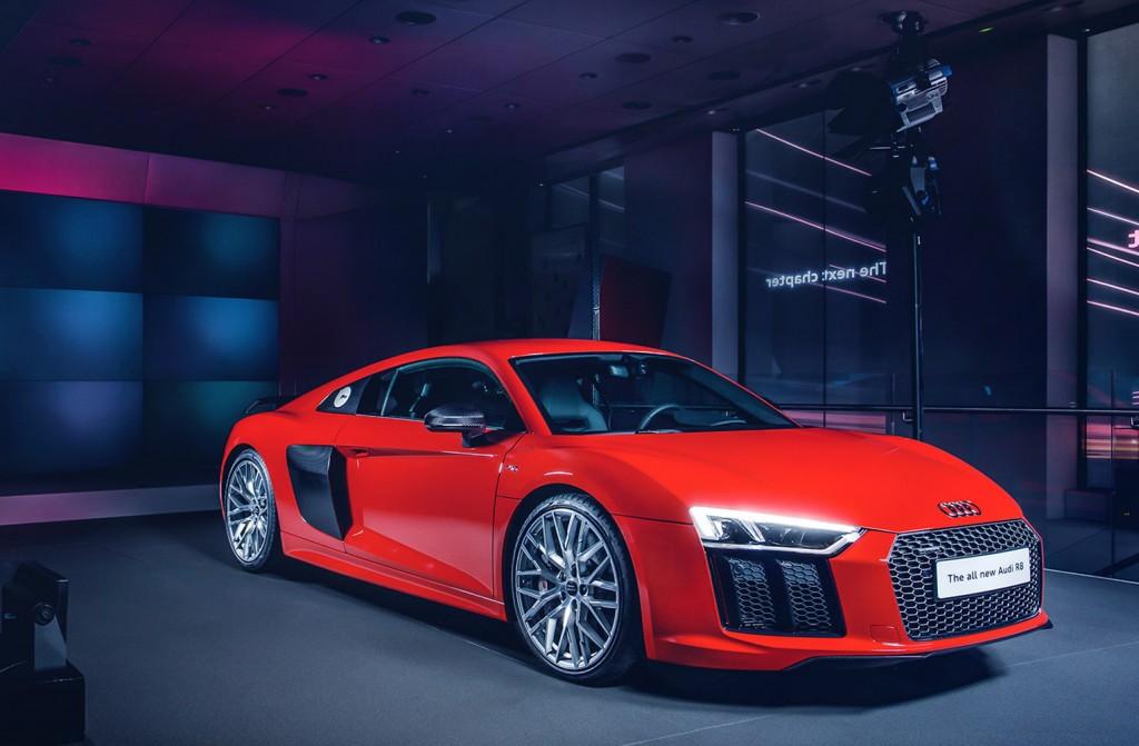 The new Audi R8 V10