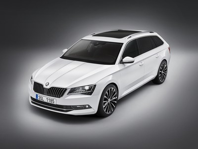 The new ŠKODA Superb Estate