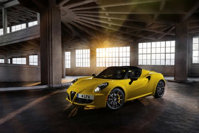 firstvehicleleasing.co.uk Alfa Romeo 4C Spider UK order books open