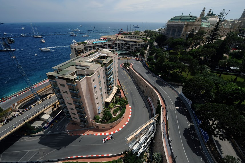 Monaco - street racing and iconic corners