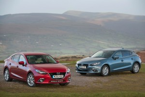 Mazda3 Skyactiv-D 1.5 first vehicle leasing