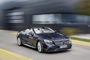 The new Mercedes-AMG S65 Cabriolet first vehicle leasing