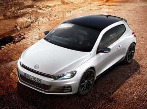 VW Scirocco GT Black Edition first vehicle leasing