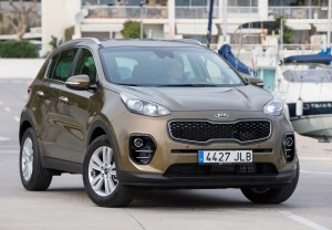 New Kia Sportage First Vehicle Leasing