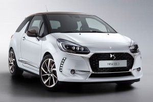 The new DS 3 first vehicle leasing