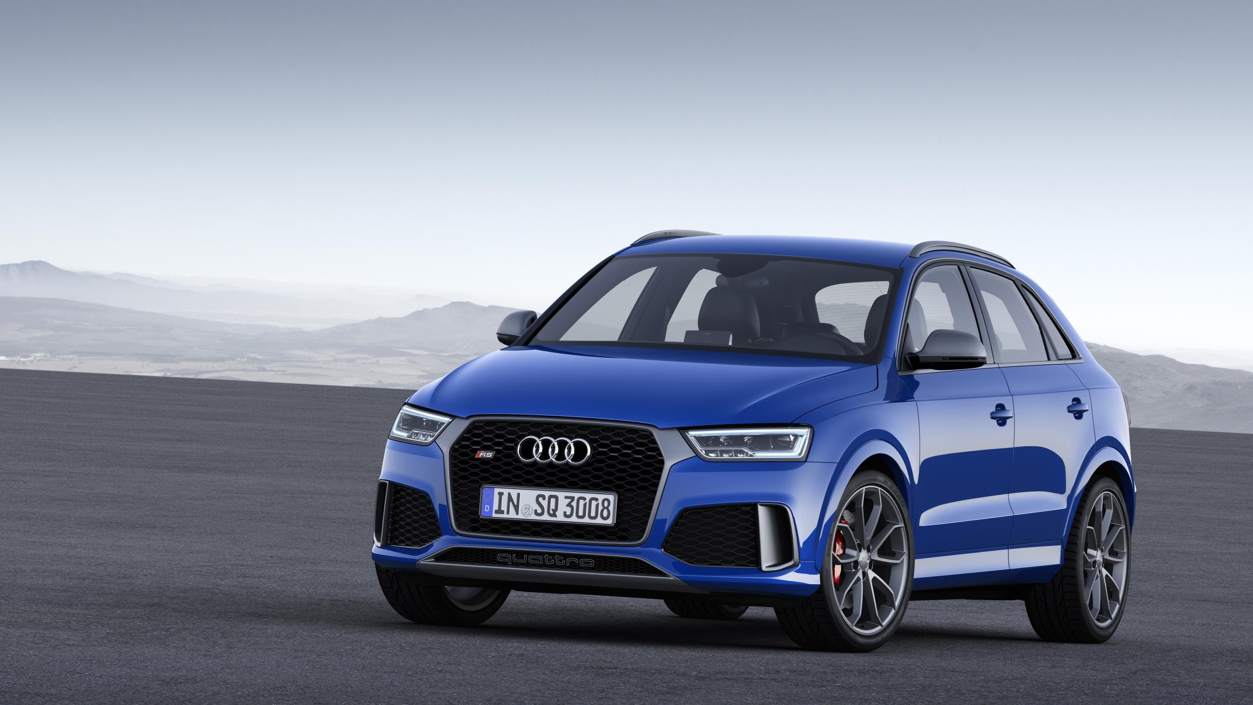Audi RS Q3 s a great new 362bhp engine