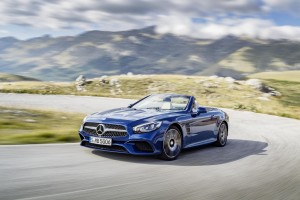 New Mercedes SL Roadster First Vehicle Leasing