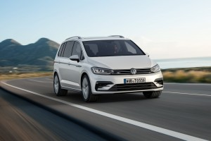 New VW Touran R-Line first vehicle leasing 2