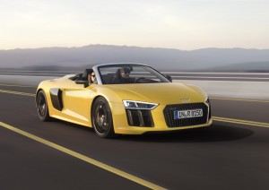 Audi R8 Spyder First Vehicle Leasing 1