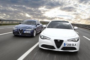 Alfa Romeo Giulia first vehicle leasing 1