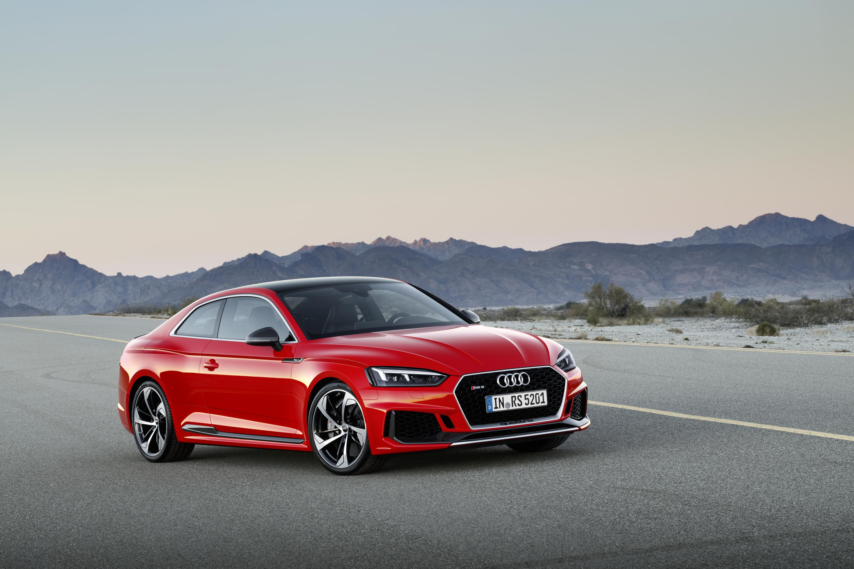 New Audi RS5 coupe impresses