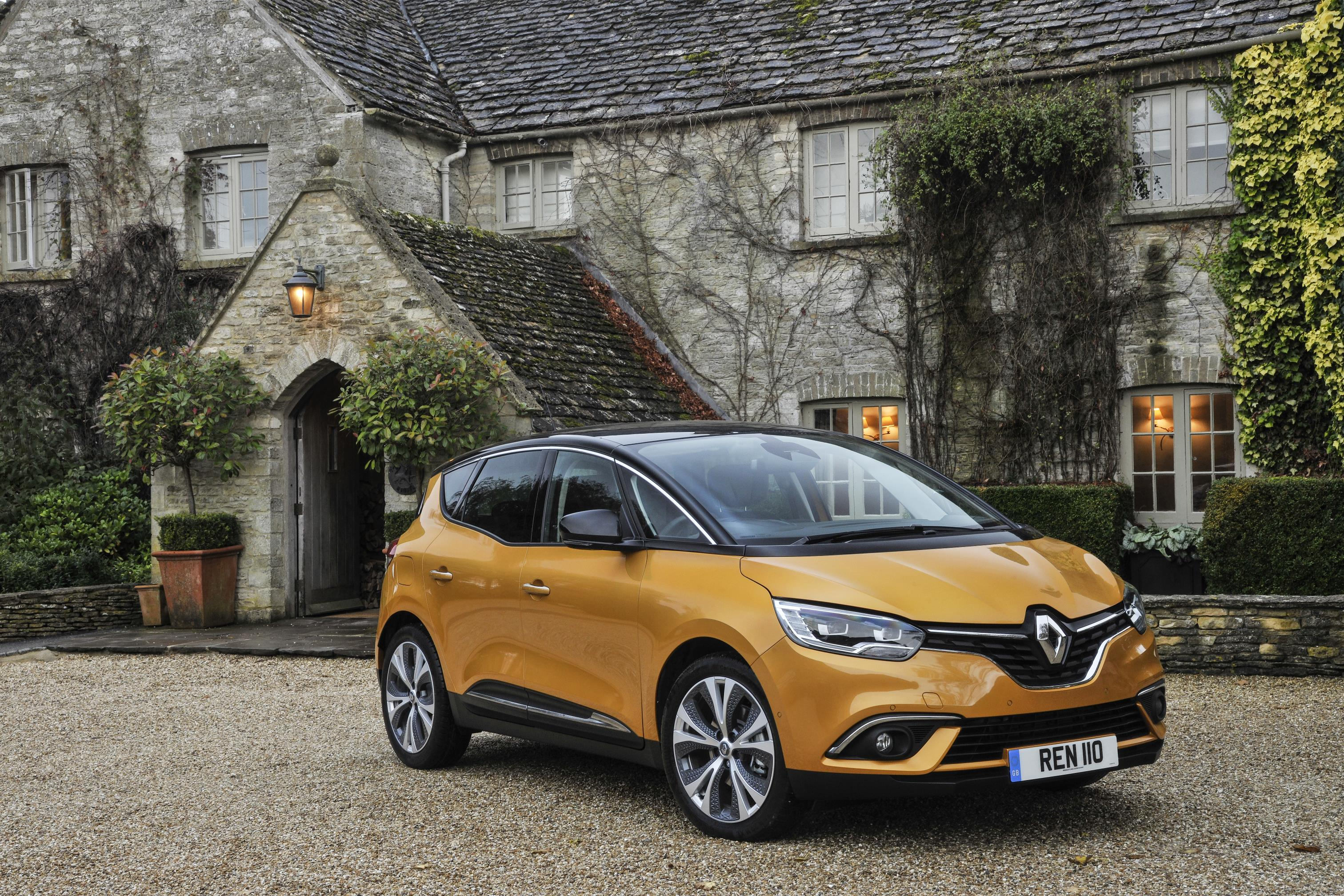 all new renault scenic hybrid is revealed. Black Bedroom Furniture Sets. Home Design Ideas