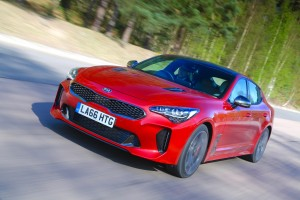 The all-new Kia Stinger is a gran turismo with rear wheel drive.