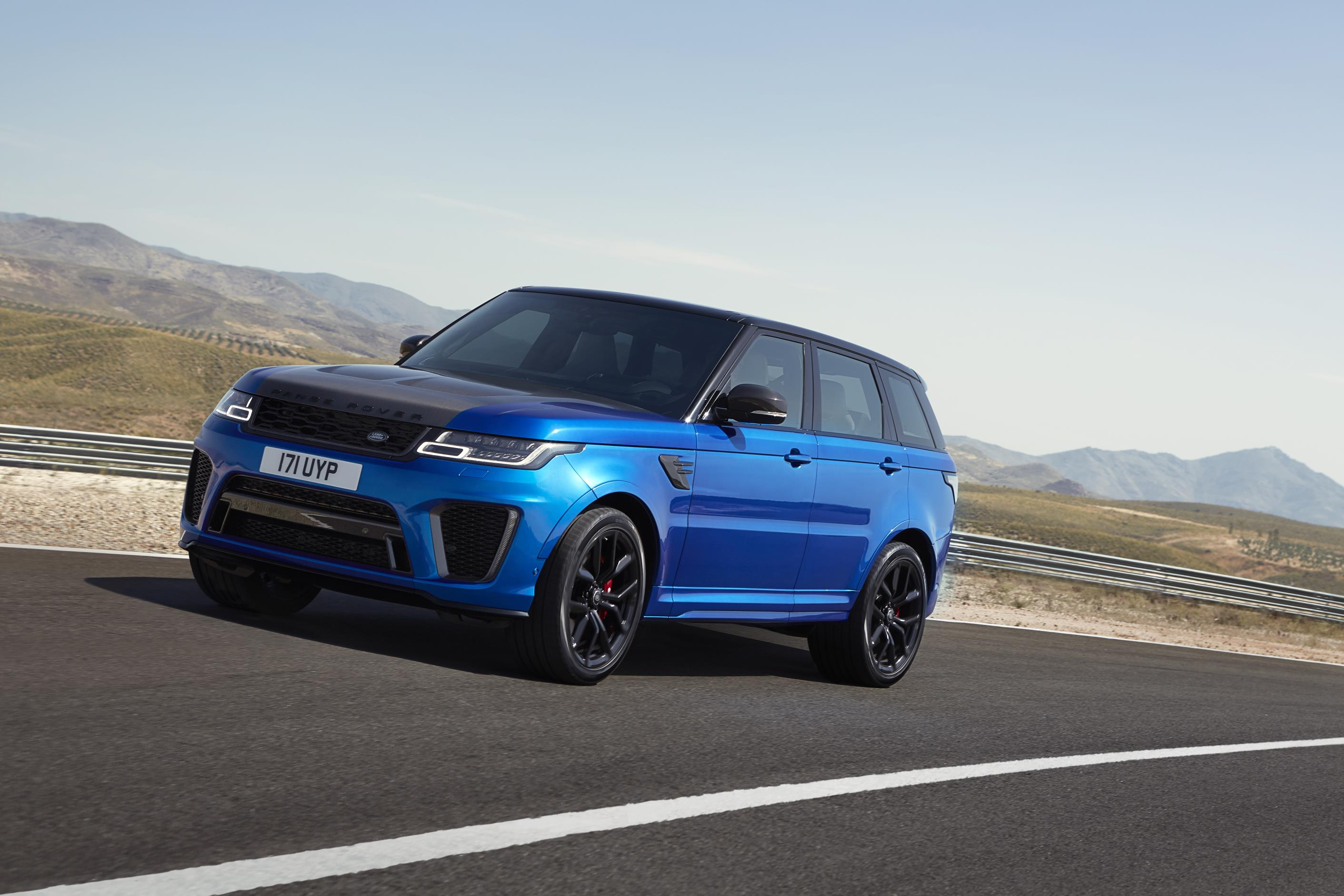 The Revamped Range Rover Sport Now Has An Impressive Electric Hybrid Option