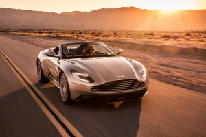 The Aston Martin DB11 Volante is a stylish and sleek convertible.