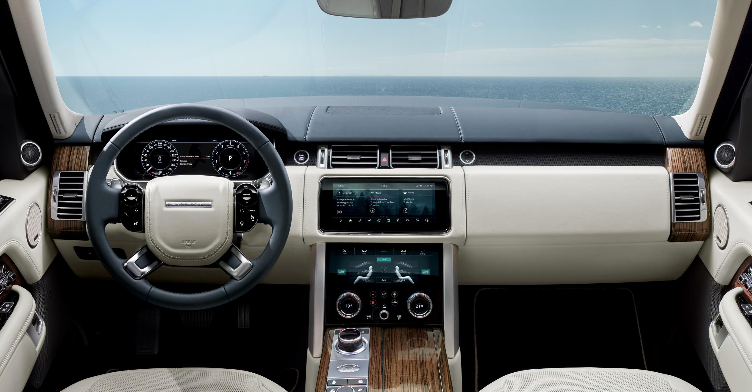 New Range Rover line up features a plug in hybrid