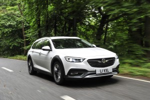 The Vauxhall Insignia Country Tourer offers space and style.