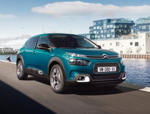 The new Citroen C4 Cactus is a comfortable hatchback.