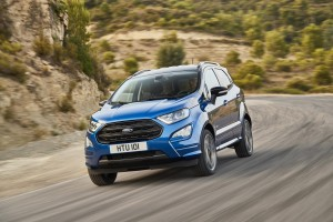 The Ford EcoSport features new equipment and a new engine.