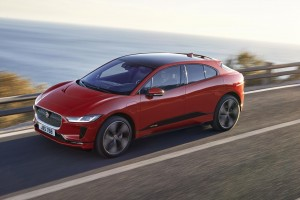 The new electric Jaguar I-Pace will impress.