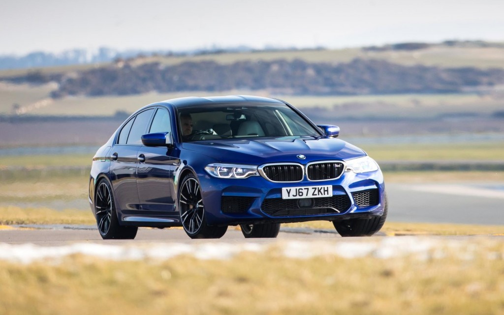 The New Bmw M5 Is A Cracker