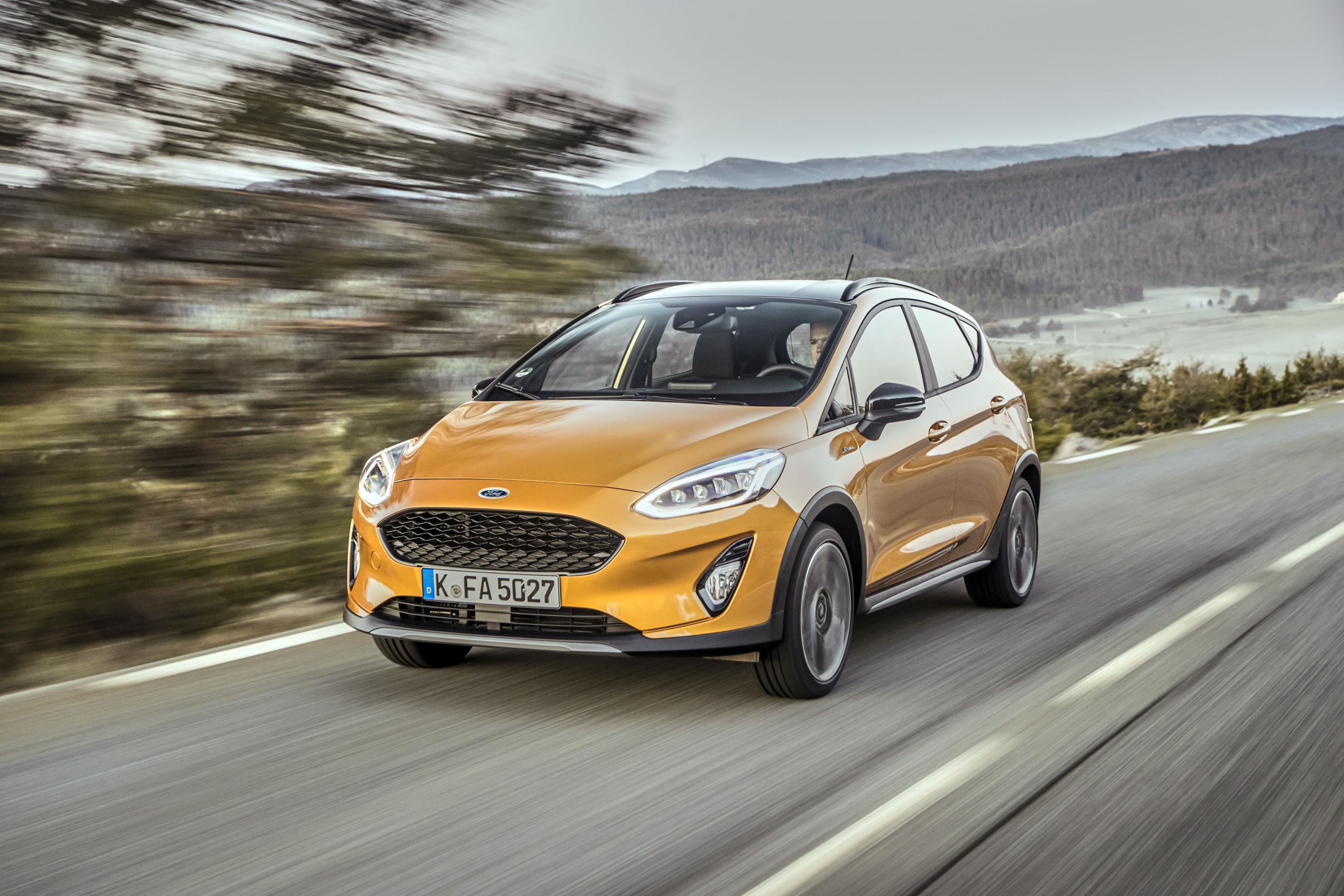 new ford fiesta active is an impressive crossover. Black Bedroom Furniture Sets. Home Design Ideas
