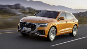 The Audi Q8 is a new luxury flagship for the firm's Q range.