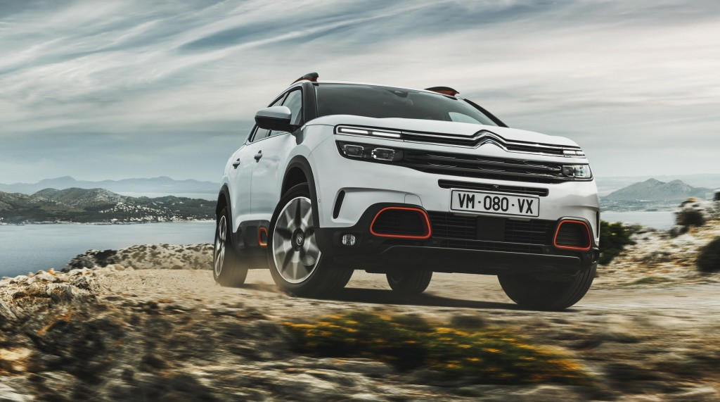 The New Citroen C5 Aircross Is Unveiled