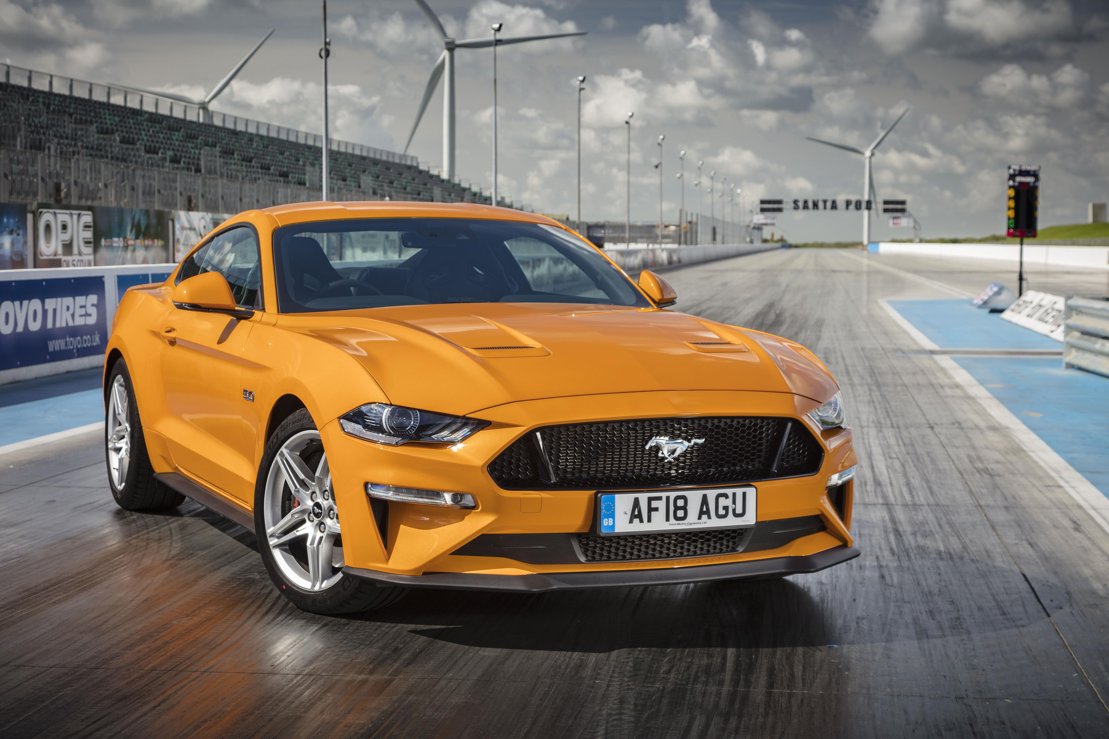 The ford mustang has had an upgrade to boost its popularity further