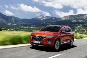 The new Hyundai Santa Fe has lots of new equipment and safety features.