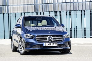 The new Mercedes B-Class delivers more agility and comfort than its predecessor.