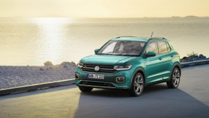 The impressive Volkswagen T-Cross has been given a world premiere as the car firm expands its line-up of SUV's.
