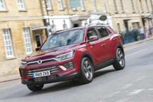 The Ssangyong Korando is a spacious and well-built offering.