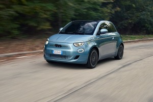 The new electric Fiat 500