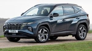 The Hyundai Tucson car lease new look