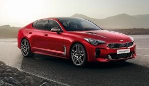 New Kia Stinger car lease front
