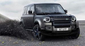 Defender V8 car lease front