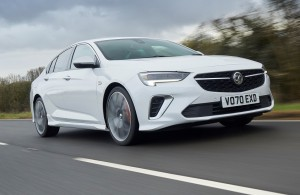 Vauxhall Insignia car lease front view