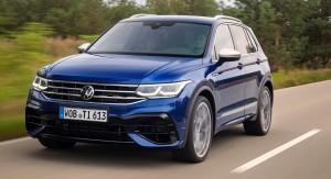 VW Tiguan R car lease front