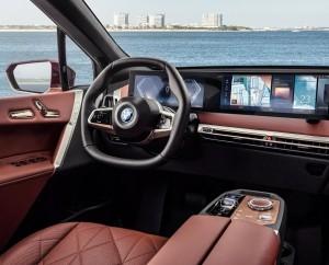 BMW iX xDrive40 car lease firstvehicleleasing.co.uk 2