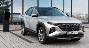 Hyundai Tucson plug-in hybrid car lease front