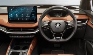 Skoda Enyaq iV electric car lease firstvehicleleasing.co.uk 2