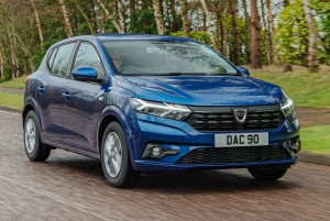 Dacia Sandero car lease front