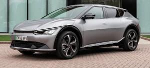 Kia EV6 car lease front