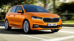 Skoda Fabia car lease front