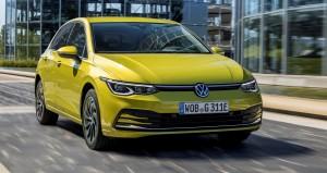 VW Golf eHybrid car lease front