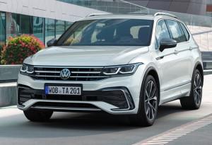 VW Tiguan Allspace car lease front
